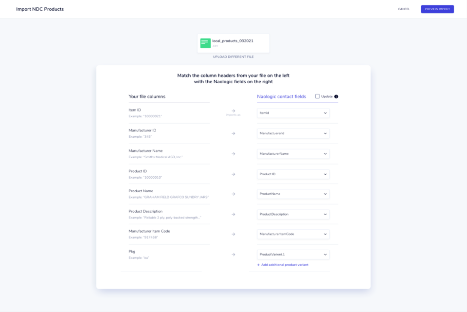 Automated product updates